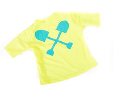 Load image into Gallery viewer, Kids Short Sleeve Swim Shirt
