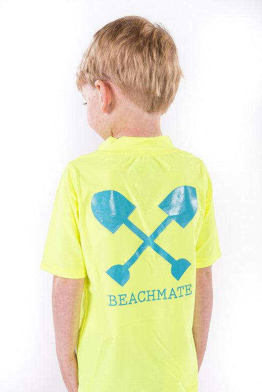 Kids Short Sleeve Swim Shirt