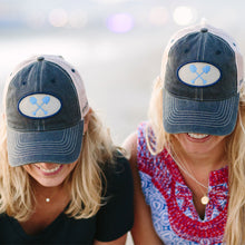 Load image into Gallery viewer, Adult Navy Trucker Hat