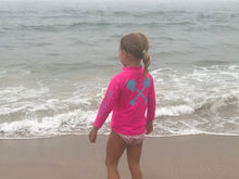 Load image into Gallery viewer, Kids Long Sleeve Swim Shirt