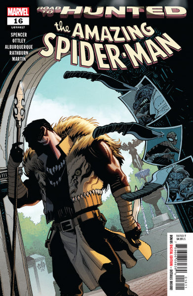 AMAZING SPIDER-MAN #16 (ROAD TO HUNTED)
