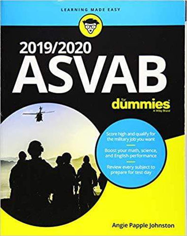 2019/2020 ASVAB For Dummies - D'Autores