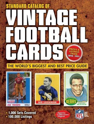 Standard Catalog of Vintage Football Cards - D'Autores
