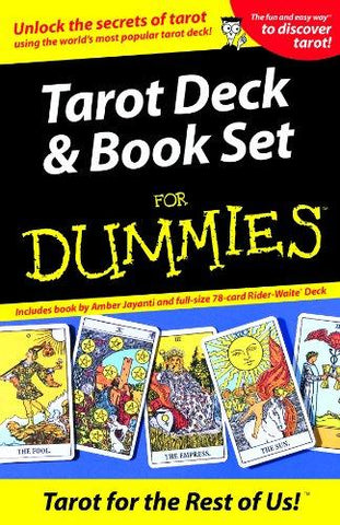 Tarot Deck & Book Set for Dummies [With Book] - D'Autores
