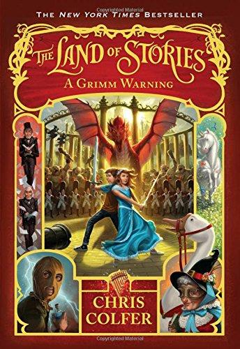 The Land of Stories Book 3 A Grimm Warning - D'Autores