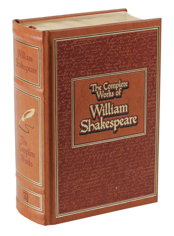 The Complete Works of William Shakespeare (Leather-bound Classics) - D'Autores