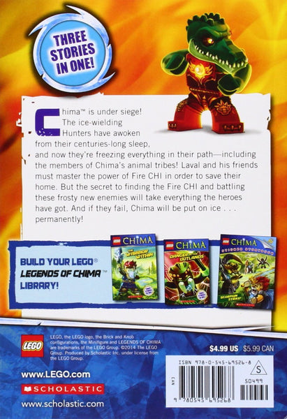 LEGO Legends of Chima: Fire and Ice (Chapter Book #6) - D'Autores