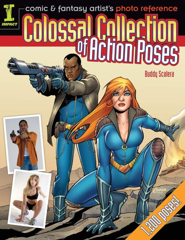 Comic & Fantasy Artist's Photo Reference: Colossal Collection of Action Poses - D'Autores