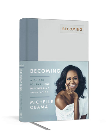 Becoming: A Guided Journal for Discovering Your Voice - D'Autores