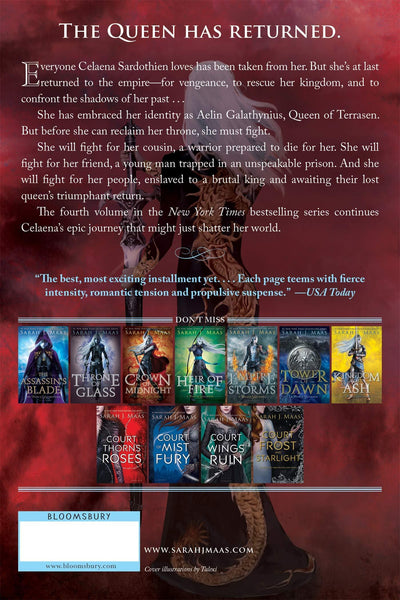 Queen of Shadows ( Throne of Glass #04 ) - D'Autores