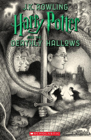 Harry Potter and the Deathly Hallows 20th anniversary ed. Paperback - D'Autores