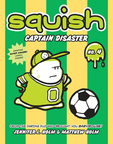 Squish #4: Captain Disaster - D'Autores