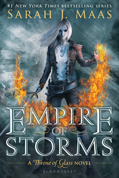 Empire of Storms (Throne of Glass #05) - D'Autores