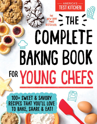 The Complete Baking Book for Young Chefs - D'Autores