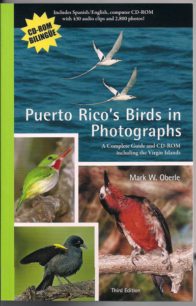 Puerto Rico's Birds in Photographs - Third Edition