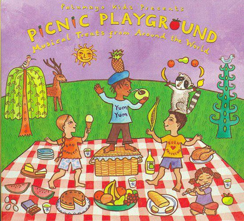 Putumayo Kids Presents Picnic Playground CD - D'Autores