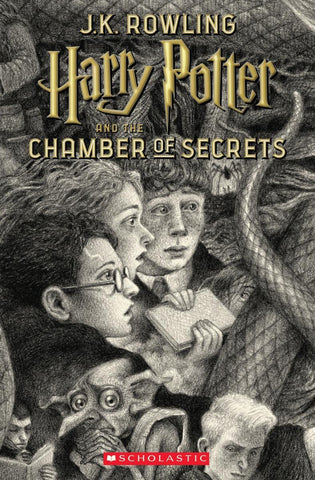 Harry Potter and the Chamber of Secrets 20th anniversary ed. Paperback - D'Autores