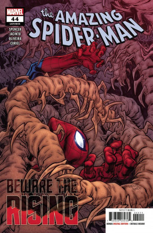 THE AMAZING SPIDER-MAN #44 / SINS RISING, PRELUDE: BEWARE THE RISING
