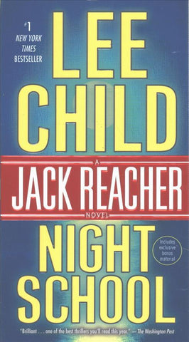 Night School: A Jack Reacher Novel - D'Autores