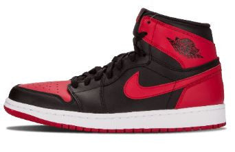 Air Jordan 1 Bred or Banned 2016