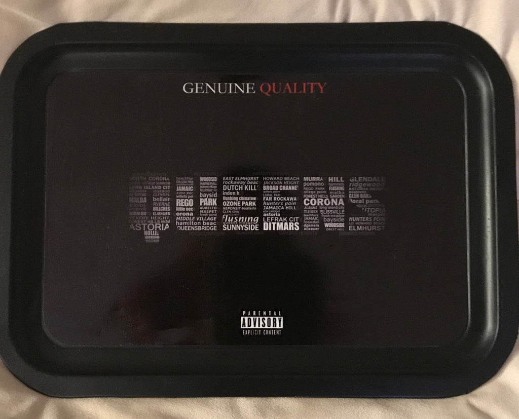 "Genuine Quality ""Queens"" Rolling Tray"