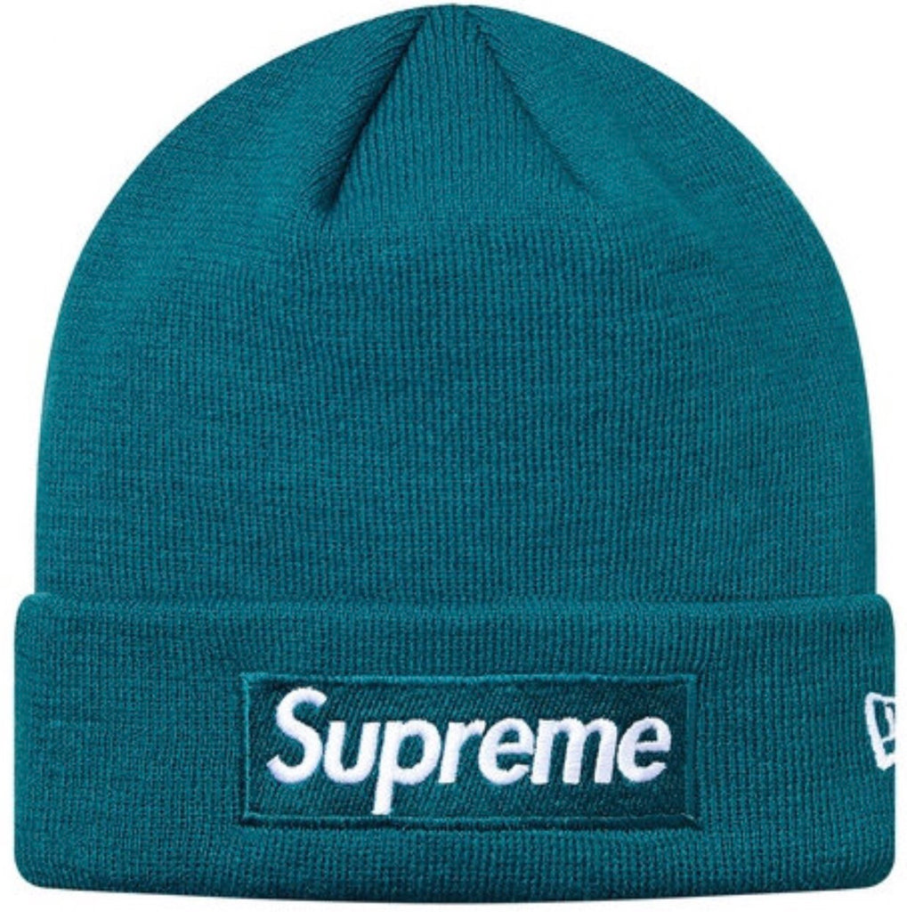 Supreme Box Logo Teal Beanie
