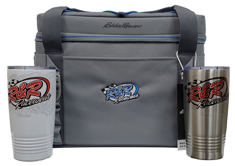R&R cooler and tumber