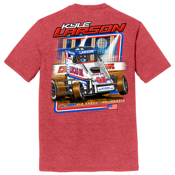 "Kyle Larson ""Drilling for Oil"" T-Shirt"