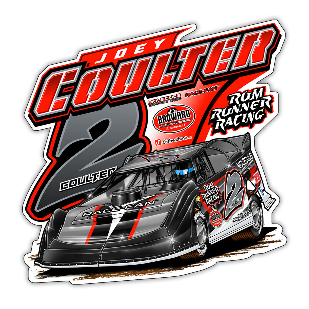 "2018 Joey Coulter ""Rum Running"" Decal"