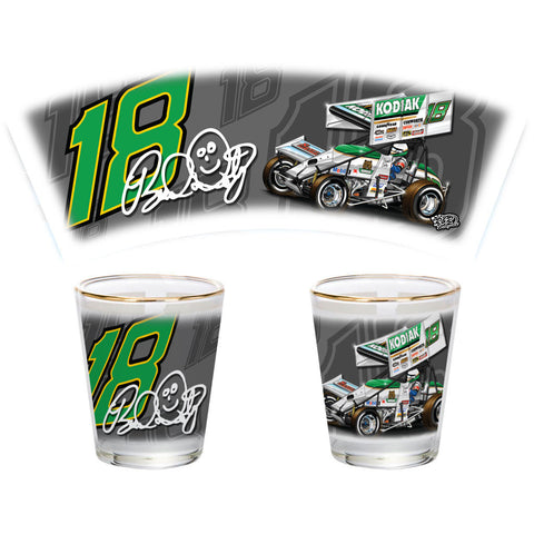 "2016 Brad Doty ""Signature Series"" Shot Glass"