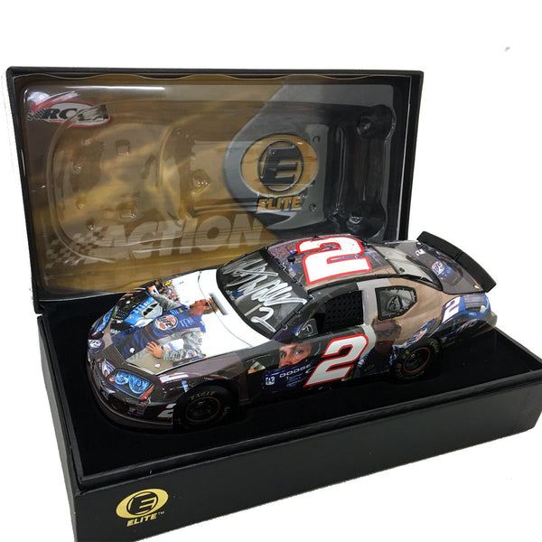 "Rusty Wallace ""Elite Face"" Die Cast *Autographed"