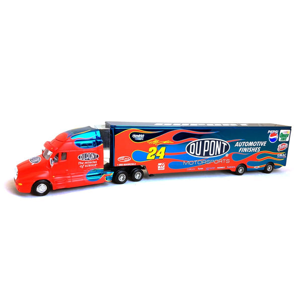 "Jeff Gordon 2001 ""Dupont Color Chrome Hauler"" Die Cast"