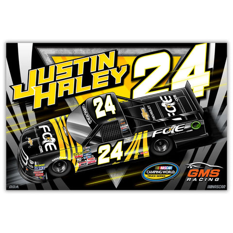 "Justin Haley ""Highlight"" Poster"