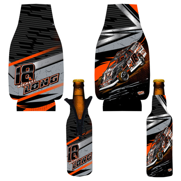 "Michael Long ""Longing to Win"" Bottle Coozie"