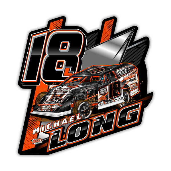 "Michael Long ""Longing to Win"" Decal"