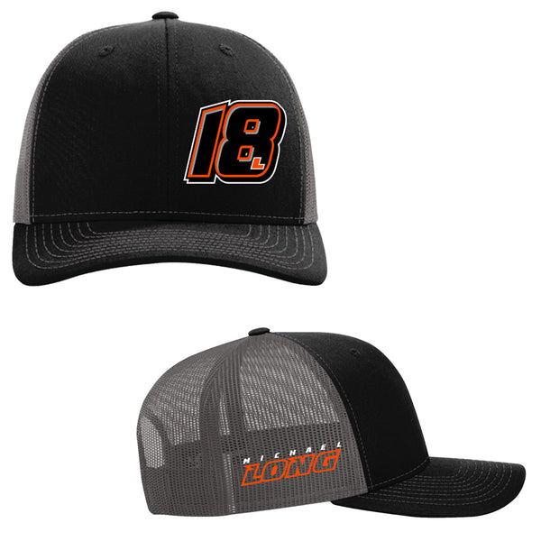 "Michael Long ""18L"" Trucker Mesh Hat"