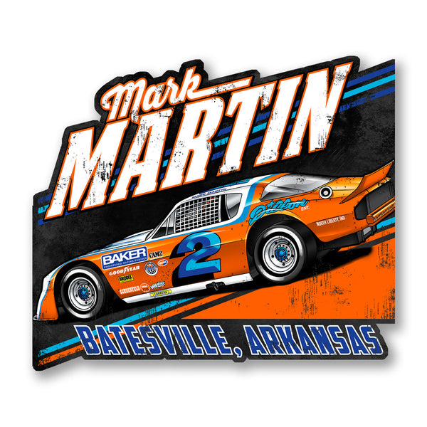 "Mark Martin ""Retro Deuce"" Decal"