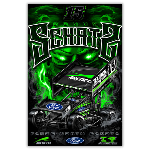"Donny Schatz ""Black Metal"" Poster"