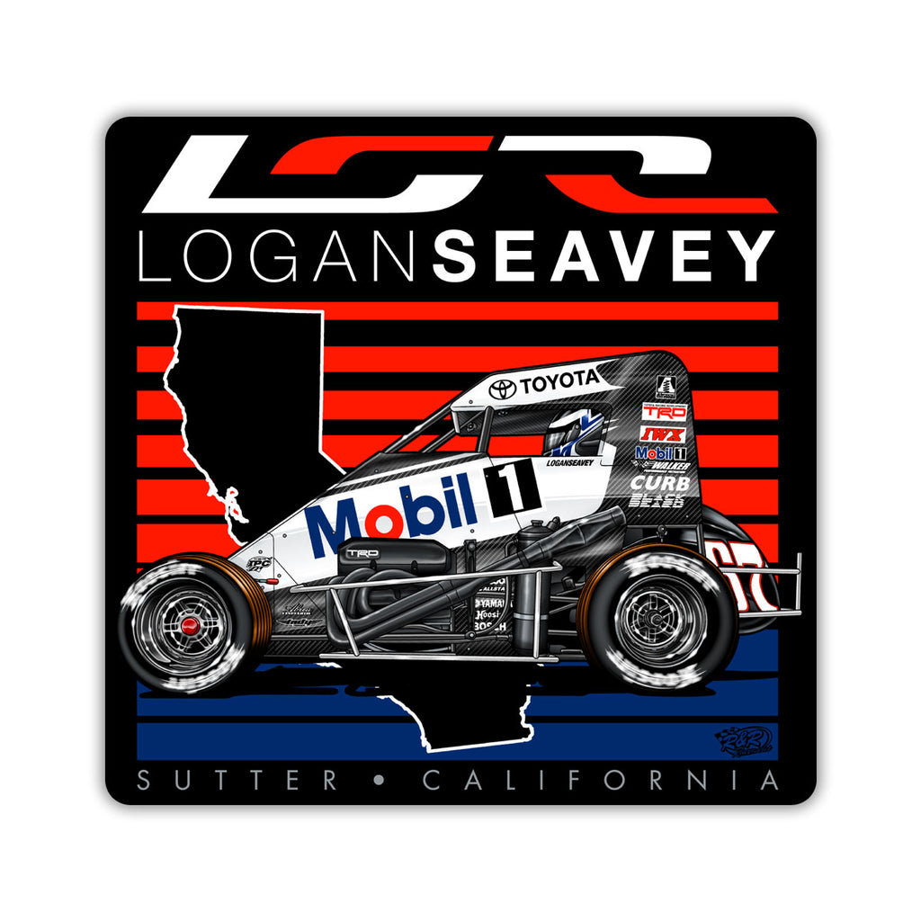 "Logan Seavey ""Going to the Front"" Decal"