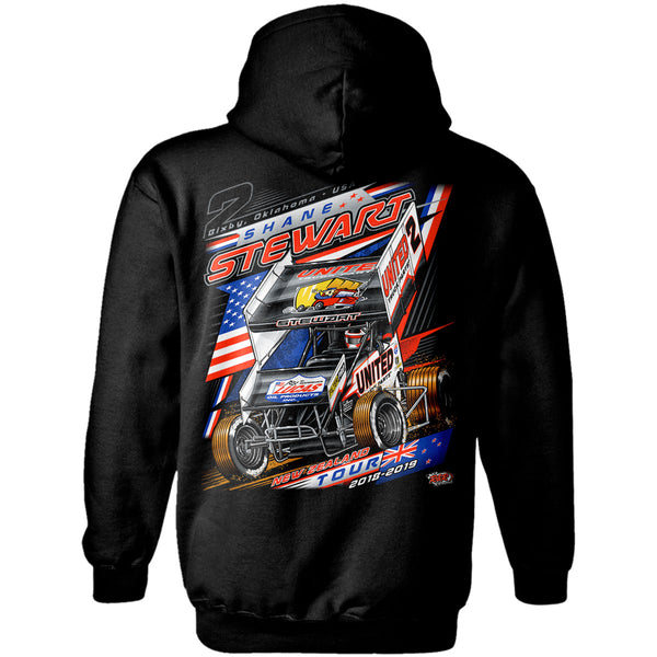 Shane Stewart New Zealand Hoodie Back