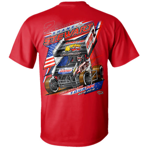 "2018 Shane Stewart ""New Zealand Tour"" T-Shirt"