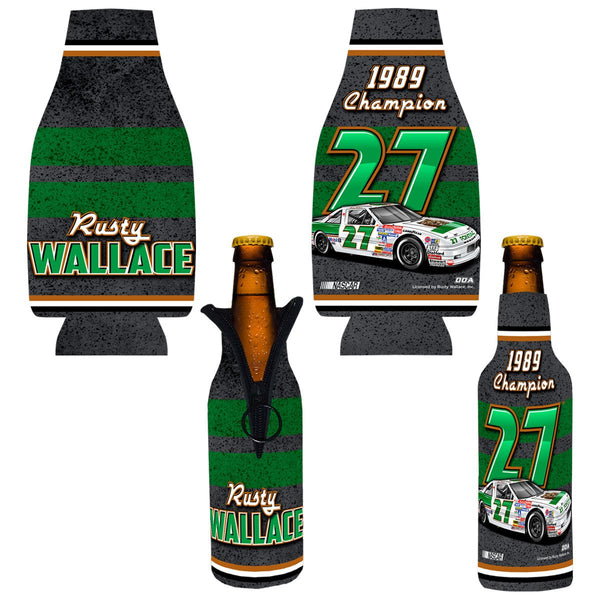 "Rusty Wallace ""1989 Champion"" Bottle Coozie"