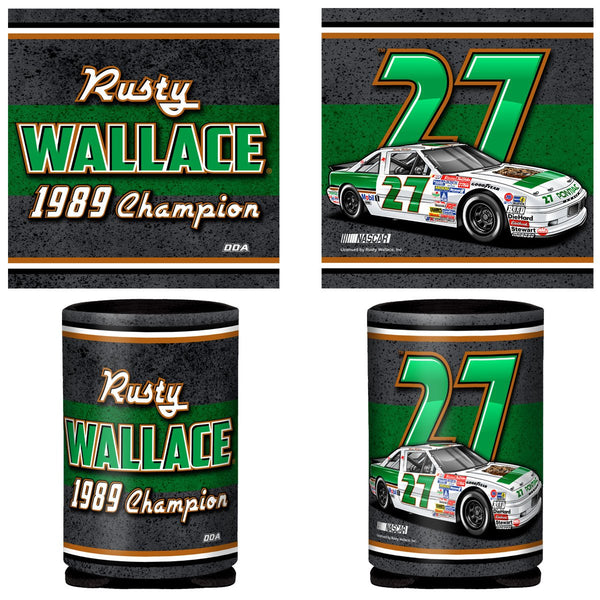 "Rusty Wallace ""1989 Champion"" Can Coozie"