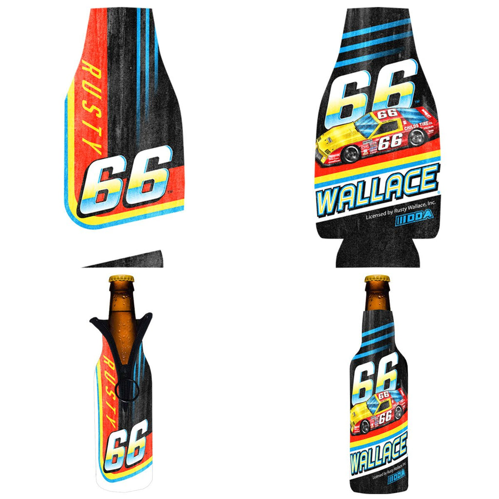 "Rusty Wallace ""66"" Bottle Coozie"