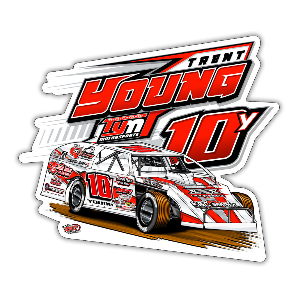 "Trent Young ""On Point"" Decal"