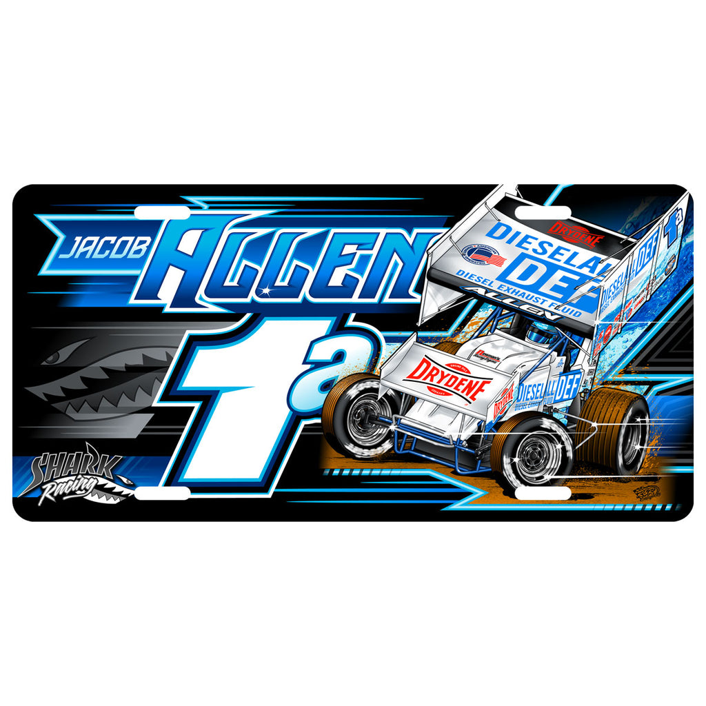 "Jacob Allen ""Hunting Prey"" License Plate"
