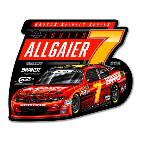 "Justin Allgaier ""Farm Plow"" Decal"