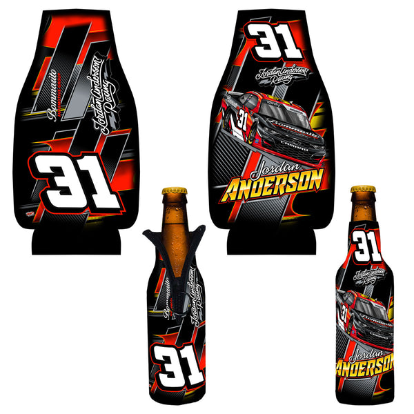 "Jordan Anderson ""Time To Go"" Bottle Coozie"