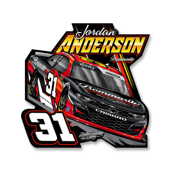 "Jordan Anderson ""Time To Go"" Decal"