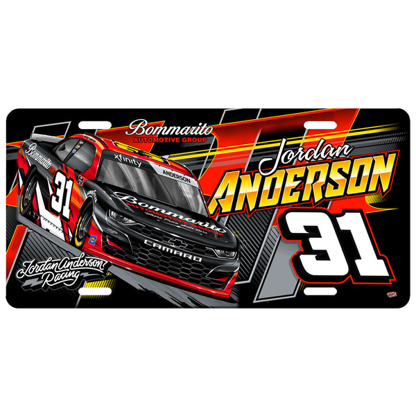 "Jordan Anderson ""Time To Go"" License Plate"